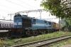 KYN WDG3A 14982 waits to depart Mumbai CST with 17031 1245 Mumbai CST - Hyderabad DN