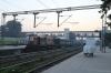 LDH WDM3A 16320 at Delhi Sarai Rohilla with 14625 0645 Delhi Sarai Rohilla - Firozpur Cantt