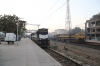 Delhi Sarai Rohilla (L) ABR WDM3A 16796 with 22421 0705 Delhi Sarai Rohilla - Bhagat Ki Kothi and (R) IZN WDG4D 70373 with 14812 0650 Delhi Sarai Rohilla - Sikar Jn