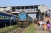SPJ WDM3A 16262 at Darbhanga Jn with 55514 0735 Jaynagar - Samastipur Jn