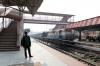 SPJ WDG3A 14683 at Darbhanga Jn after arrival with 55253 0830 Samastipur Jn - Darbhanga Jn; it would then form 55255 1130 Darbhanga Jn - Muzaffarpur Jn