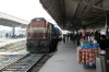 MGS WDM3A 18844 arrives into Darbhanga Jn with 12562 2035 (PP) New Delhi Jn - Jaynagar; running just the 18h30m late!