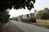 Newly arrived at Sakri Jn - NKE YDM4's, after attention at Izatnagar, 6514, 6530 & 6465