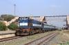SPJ WDM3D 11299 waits to depart Sakri Jn with 55578 1200 Biraul - Darbhanga Jn