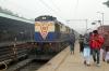MLDT WDM3D 11501 at Katihar Jn with a late running 55774 0930 Katihar Jn - Teznarayanpur