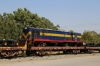 SBI YDM4 6666 on a BG flat wagon stabled at Marwar Jn, en-route from IZN to SBI