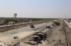 Marwar Junction, on the left is the purpose built MG platform to serve the Marwar - Mavli line, in the middle is the old MG platforms which are right in the middle of the construction site for the new BG freight corridor and on the right is the current BG station