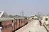 FL outbased MVJ YDM4 6655 arrives into Marwar Jn with 52076 0700 Mavli Jn - Marwar Jn