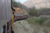 FL outbased MVJ YDM4 6655 heads away from Goramghat with 52075 1400 Marwar Jn - Mavli Jn