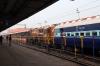 SPJ WDG3A 13080 at Barauni Jn with a late running 55539 0400 Katihar Jn - Hajipur Jn