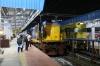 BZA WDP1M 15028 waits at Vijayawada Jn with 57381 1635 Guntur Jn - Narasapur passenger
