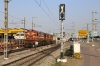 KZJ WDG3A's 14777/13446 & GY WDP4D 40117 wait their next turns at Secunderabad Jn