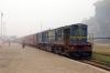 NKE YDM4 6471 at Saharsa Jn after arrival with 52323 0700 Tharbitia - Saharsa Jn