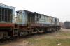 NKE YDM4 6703 at Jhanjharpur Jn
