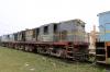 Jhanjhapur Jn scrap line No.1 - NKE YDM4 6682