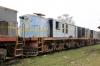 Jhanjhapur Jn scrap line No.1 - NKE YDM4 6532