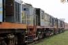 Jhanjhapur Jn scrap line No.1 - NKE YDM4 6458