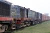 Jhanjhapur Jn scrap line No.1 - NKE YDM4 6551