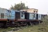 Jhanjhapur Jn scrap line No.2 - NKE YDM4 6592