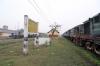 Jhanjharpur Jn scrap line No.1 (L) - NKE YDM4s 6590, 6592, 6495, 6512 & scrap line No.2 (R) NKE YDM4's 6551, 6458, 6532, 6682, 6510
