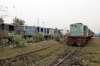 Jhanjharpur Jn scrap line No.2 - NKE YDM4 6495 & 6512 with serviceable YDM4's 6465/6703