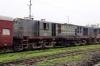 Jhanjharpur Jn scrap line No.1 - NKE YDM4 6551