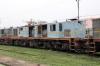 Jhanjharpur Jn scrap line No.1 - NKE YDM4 6532