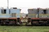 Jhanjharpur Jn scrap NKE YDM4's 6532/6682 + 6590/9592