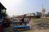 NKE YDM4 6597 waits to depart Sakri Jn with 52513 1400 Sakri Jn - Jhanjharpur Jn