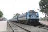 GTL WAG7 28417 at Marripalem with 57226 0910 Visakhapatnam Jn - Vijayawada Jn