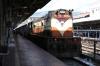 VSKP WDM3D 11514 at Visakhapatnam Jn after arriving with 58529 1830 (P) Durg Jn - Visakhapatnam Jn