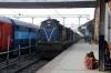 SPJ WDM3A 16401 at Samastipur Jn after arrival with 55514 0735 Jaynagar - Samastipur Jn