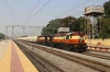 VSKP WDG3A's 14654/13140 run through Mahasamund with a southbound freight
