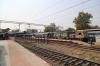 PA WDG4 12871 at Jabalpur Jn with 12149 2055 (P) Pune Jn - Danapur