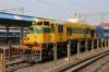 ET WDS6 36254 stabled at Jabalpur Jn