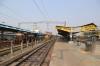 Jabalpur Jn (L-R) - ET WDM3A 18924 after arriving with 11266 0615 Ambikapur - Jabalpur Jn, KTE WDM3D 11578 waits to depart with 22188 1610 Jabalpur Jn - Habibganj while PTRU WDM3A 16416 shunts its stock, having arrived with 11448 1310 (P) Howrah - Jabalpur Jn Shaktipunj Express