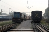 IZN YDM4 6500 departs Lucknow City with 52240 1450 Aishbagh- Tikunia