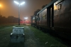 IZN YDM4 6533 at Aishbagh with 15308 2025 Aishbagh - Izatnagar Nainital Express; this service would terminate at Pilibhit from 01/01/16 after the section to Izatnagar closed for gauge conversion!