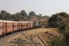 FL YDM4 6732 leads 52075 1120 Marwar Jn - Mavli Jn between Goramghat & Khambli Ghat