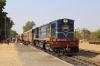 FL YDM4 6732 waits to depart Khambli Ghat with 52075 1120 Marwar Jn - Mavli Jn