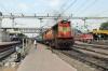 KZJ WDM3A 18912 departs Secunderabad Jn with 18309 0850 (P) Sambalpur Jn - Nanded