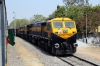 VSKP WDG4D's 70396/70394 arrive into Malkajgiri with a freight
