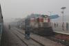 LDH WDM3A 16292 at Delhi Cantt with 54414 0705 Rewari Jn - Delhi Jn