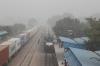 TKD WDM3A 18988 arrives into Delhi Cantt with 19408 1535 (P) Varanasi Jn - Ahmedabad Jn