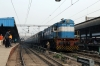 SSB WDS6 36521 waits to shunt the stock over to platform 16 to form 15274 1715 Delhi Jn - Raxaul