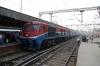TKD WDP3A 15541 arrives into Delhi Jn with 54416 1310 Rewari Jn - Delhi Jn