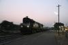 ABR WDM2 16827 waits to depart Parbatsar City with 04801 0630 Parbatsar City - Makrana Jn