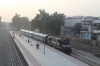 ABR WDM2 16827 at Makrana Jn after arrival with 04801 0630 Parbatsar City - Makrana Jn