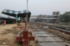 Pilibhit Jn MG station being demolished and converted to BG