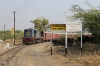 FL YDM4 6732 arrives into Phulad with 52076 0700 Mavli Jn - Marwar Jn